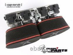 PX airfilter kit Mikuni RS flatslide racing carburetor / 34 36 80 40 airfilters