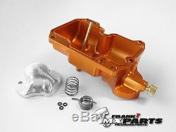 Powerbowl Keihin FCR MX flatslide carburetor / 32 37 39 40 41 ORANGE UPGRADE