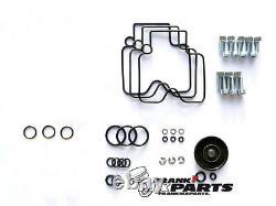 Rebuild kit 2 Keihin FCR 39 flatslide carburetor Triumph Speed Triple repair NEW