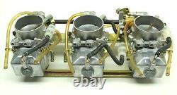 Ski-Doo Mach Z 809 Triple Carbs Mikuni TM38 Flat Slide Carburetor with Power Jet