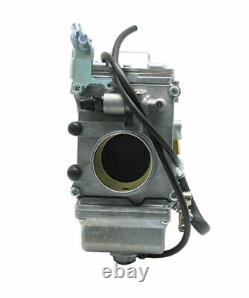 Smoothbore Carburetor For Mikuni HSR45 45mm Carb Harley EVO Twin Cam TM45-2K New