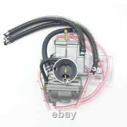 Tm30 Flat Slide Carburetor 30mm Atv Yamaha Dt200wr Rz250 Suzuki Carb Dt200s