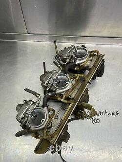 Yamaha SRX 600 SX 600 700 Triple Flatslide Carburetors R Vmax XTC Carbs Venture
