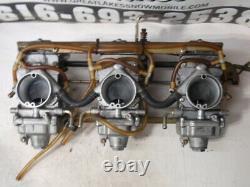 Yamaha Vmax 700 Redhead Triple Snowmobile Engine Flatslide Rack Carbs Carburetor